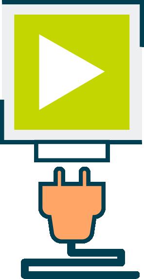 Pictogramme Technologie Plug & Play des dispositifs de conversion au E85 FlexFuel Energy Development